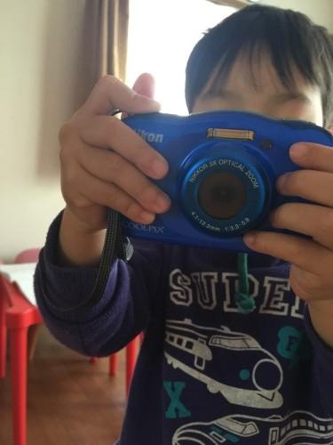 息子がカメラを持つとこんな感じ