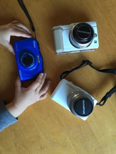 我が家の愛用カメラ達