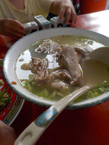 大圓環鴨肉麺
